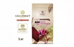Горький шоколад Barry Callebaut Saint-Domingue 70% какао (1 кг)